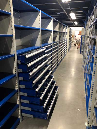 Industrial Shelving Options
