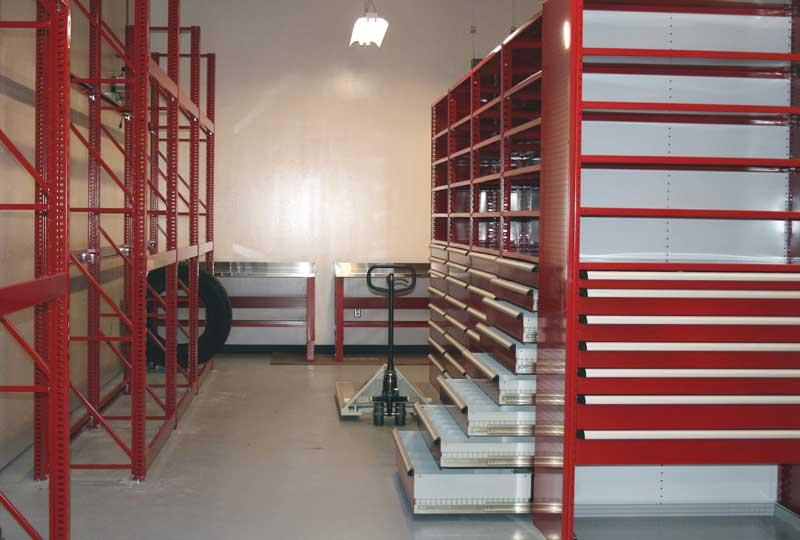 High density Mobile Storage Drawer System