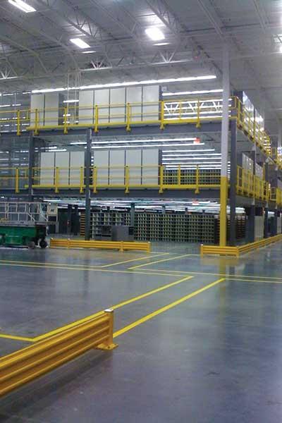 Mezzanies for commercial storage