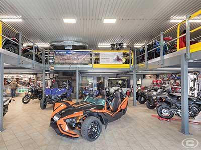 Retail Store Mezzanines auto example