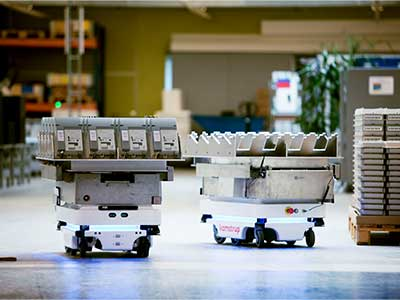 Mobile Robots for commercial use