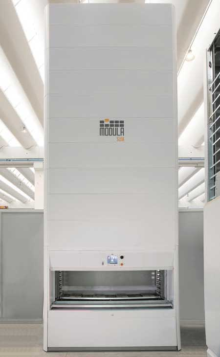 Modula Slim commercial storage solutions