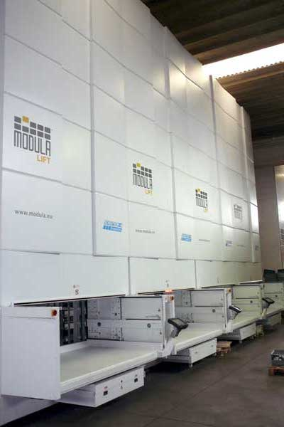 Modula Vertical Lift Module for commercial storage