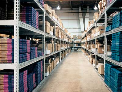 Rivet Span Industrial Shelving