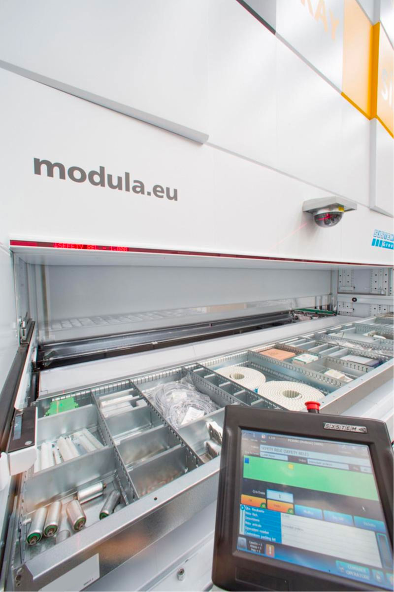 Modula One Ton Vertical Storage Solutions