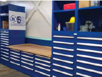 Industrial Storage HD Shelves with worktop