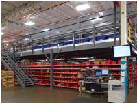 Mezzanines industrial storage solutions