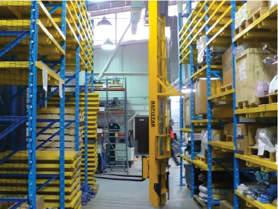 Stacker Cranes provide additional storage solutions and easy access